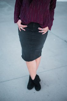 must-have pencil skirt