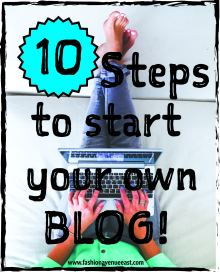 start your own blog